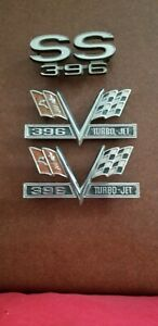 Chevelle 396 Fender And Grille Emblems