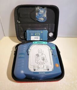 Philips Heartstart Onsite Hs1 Aed M5066a W 2018 Battery Expired Pads 11 2010