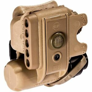SureFire Helmet Light 3V 1.4 to 19.2 Lum IR Wh LED Tan $169.00