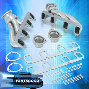 For 57 67 Ford Big Block Fe 332 427 Bbc Steel Exhaust Performance Shorty Headers