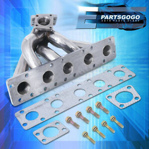 For 90 96 Audi S2 S4 Kkk K26 Stainlesssteel Turbocharger Header Exhaust Manifold