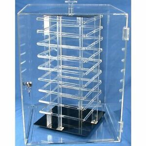 Earring Display Case Rotating Revolving 144 Card Stand