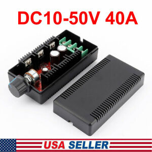 Dc Motor Speed Control Reversible Pwm Controller Regulator Switch Dc10 50v 40a