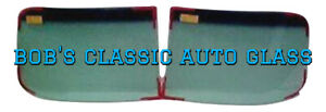 1948 1953 Hudson 2 Piece Windshield Vintage Classic Auto Glass Windows New