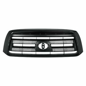 Front Grille Black W Rock Warrior Or Sport Pkg Fits 2010 2013 Toyota Tundra