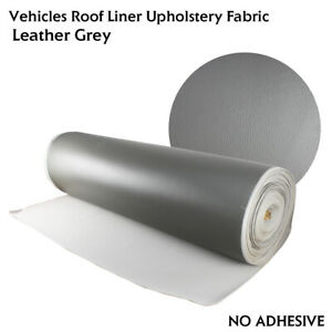 156 X 54 Gray Vinyl Headliner Lining Fabric Replacement Automotive Roof Liner