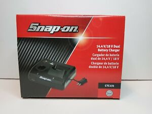 Snap On Tools Ctc131 14 4v 18v Volt Dual Bay Lithium Ion Battery Charger Ctc131