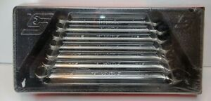 Snap On Tools 7pc Mm Flank Drive Plus Combination Wrench Set Soexm707 New