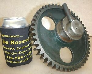 Cam Gear And Mounting Bolt For A 7hp Witte Antique Flywheel Old Gas Engine