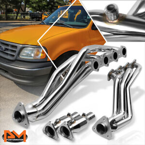 For 99 04 Ford F150 Heritage 5 4l Stainless Steel Racing Exhaust Header Manifold
