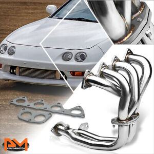 For 94 01 Acura Integra Ls rs gs B18 Stainless Steel 4 2 1 Exhaust Header gasket