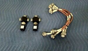 lot Of 2 Motorola Rfs Radio Frequency Systems 0183349y07 W 440mm 0810mhz Cable