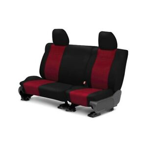 For Toyota Previa 94 97 Neosupreme 2nd Row Black Red Custom Seat Covers