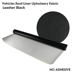 40 X 54 Vinyl Headliner Utility Fabric Also Foam Backed Restoration Hole dirty