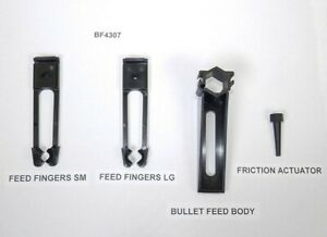 Lee Bullet Feeder Molded Parts Kit Small amp; Large Feeder Fingers Included #BF4307 $18.24