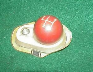Nos Hurst Red 4 Speed Shifter Shift Handle Knob Chevy Ford New Dodge Gasser