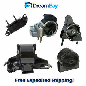 1990 1992 For Toyota Corolla 1 6l Fwd Engine Motor Trans Mount 5pcs For Manual