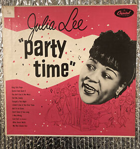 JULIA LEE And Her Boyfriends Party Time Capitol T228 TEAL LABEL VG Mono LP $12.99