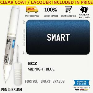 Ecz Blue Touch Up Paint For Smart Fortwo Smart Brabus Midnight Blue Pen Stick Sc
