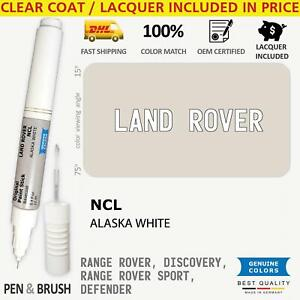 Wheel rim Ncl White Touch Up Paint For Land Rover Range Rover Discovery Sport De