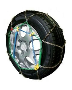 Snow Chains Car 245 45 17 R17 Links Special Mens 9 Mm Homologated