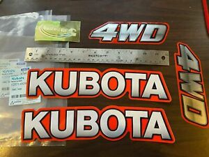 oem Genuine Kubota Tractor Bx B L Decal Kit Tractor Decals Sticker Set Uv Proof