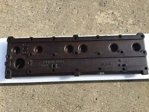 1954 Hudson Hornet 6 Cyl Engine Cylinder Head 309121 Date 9 15 54 Original Oem
