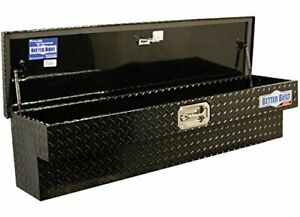 Better Built 79210995 Truck Tool Box Black Finish Side Mount Crown Series 48