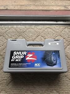 Shur Grip Cable Snow Z Chains Sz339