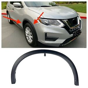For 2014 2017 Nissan Rogue Fender Flare Molding Arch Trim Front Right Passenger