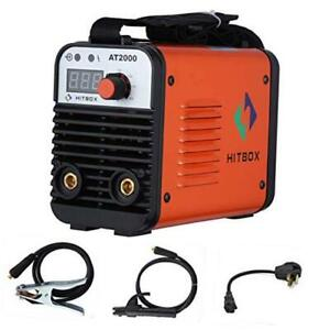 Dual Volt Arc Welding Machine Rod Stick 110 220v Mini Portable Inverter Welder