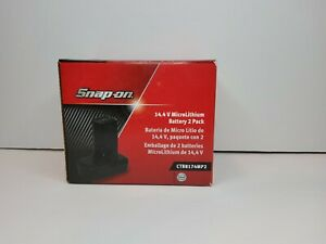 Snap On Tools 14 4 V Microlithium Battery 2 Pack Ctb8174mp2 New