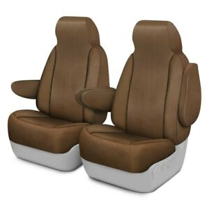 For Toyota Previa 94 97 Windsor Velour 1st Row Beige Custom Seat Covers