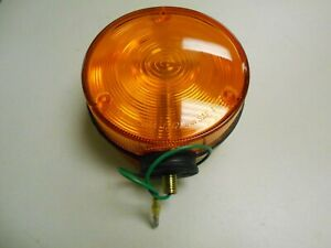 35450 75010 Kubota Tractor Amber Hazard Flasher Light Lamp H3540 75000