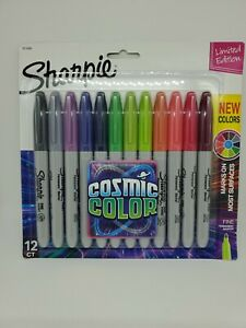 Sharpie Cosmic Color Limited Edition Marker Set Fine Line 12ct