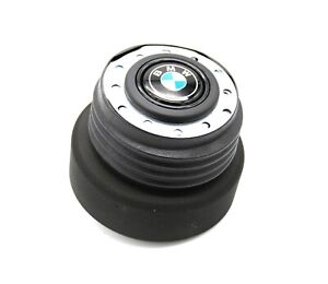 Momo Italy Steering Wheel Hub Boss Kit With Horn Button Fits Bmw E28 E30 M3