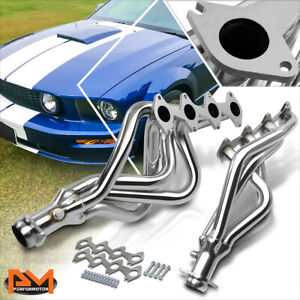 For 05 10 Ford Mustang Gt 4 6 V8 Stainless Steel Long Tube Exhaust Header Gasket