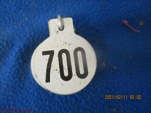 Lot Of 100 Ansco Metal Ear Tags 6 7 Cow Pig