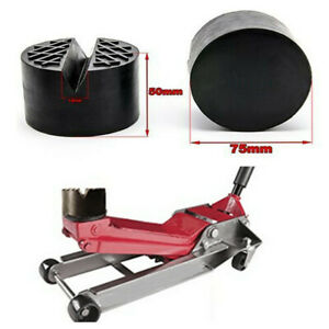 Car V slotted Frame Rail Floor Jack Rubber Pad Adapter Fit For Lift Pad Stand
