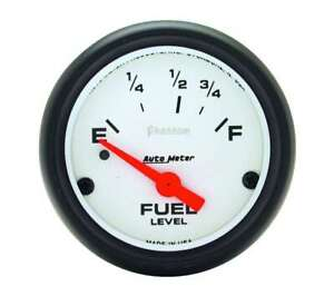 Auto Meter 2 5 8in Phantom Fuel Level Gauge