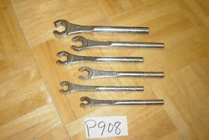 Mac Tools 6 Piece Sae Single End Flare Nut Wrench Set