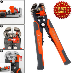 Automatic Cable Wire Tool Electrical Crimper Stripping Cutter Pliers Tool Us
