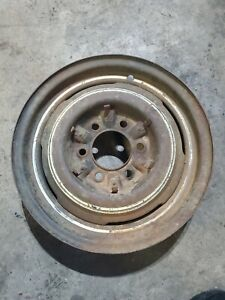 1948 Chevy Fleetmaster Chevrolet Steel Wheel 6 Lug 16 4 Only 1 Rim 2