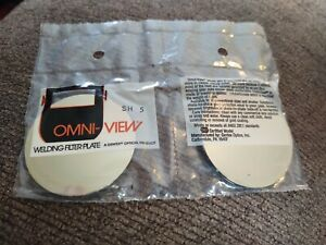 Omni View Welding Goggles Lens Shade 5 Vintage Lens Replacement