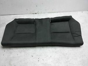 2012 Honda Civic Si Coupe Rear Lower Bottom Bench Seat