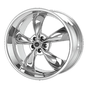18 Inch 5x114 3 Wheel Rim American Racing Ar605 Torq Thrust M 18x9 24mm Chrome