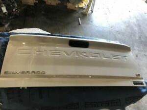 2020 Chevrolet Silverado 2500 Tailgate Trunk Deck Lid White With Camera