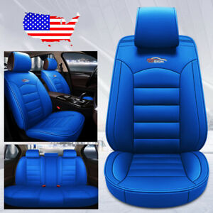 Universal 5 seat Car Pu Leather Seat Covers Cushion For Honda Accord Civic Crv