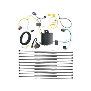Trailer Wiring Harness Kit For 14 21 Jeep Grand Cherokee Plug Play T one New