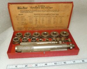 Blue Point Bushing Driver Set A 157 Vintage By Snap On